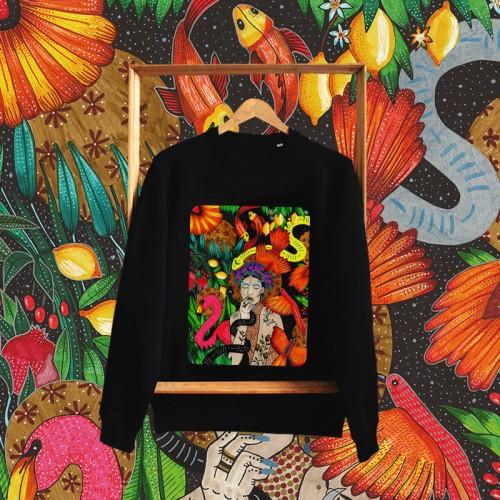 Unisex džemperis SHE IS THE UNIVERSE