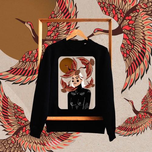 Unisex džemperis FREE AS A BIRD