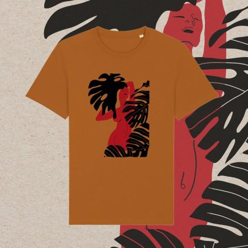 Unisex marškinėliai RISING (roasted orange)