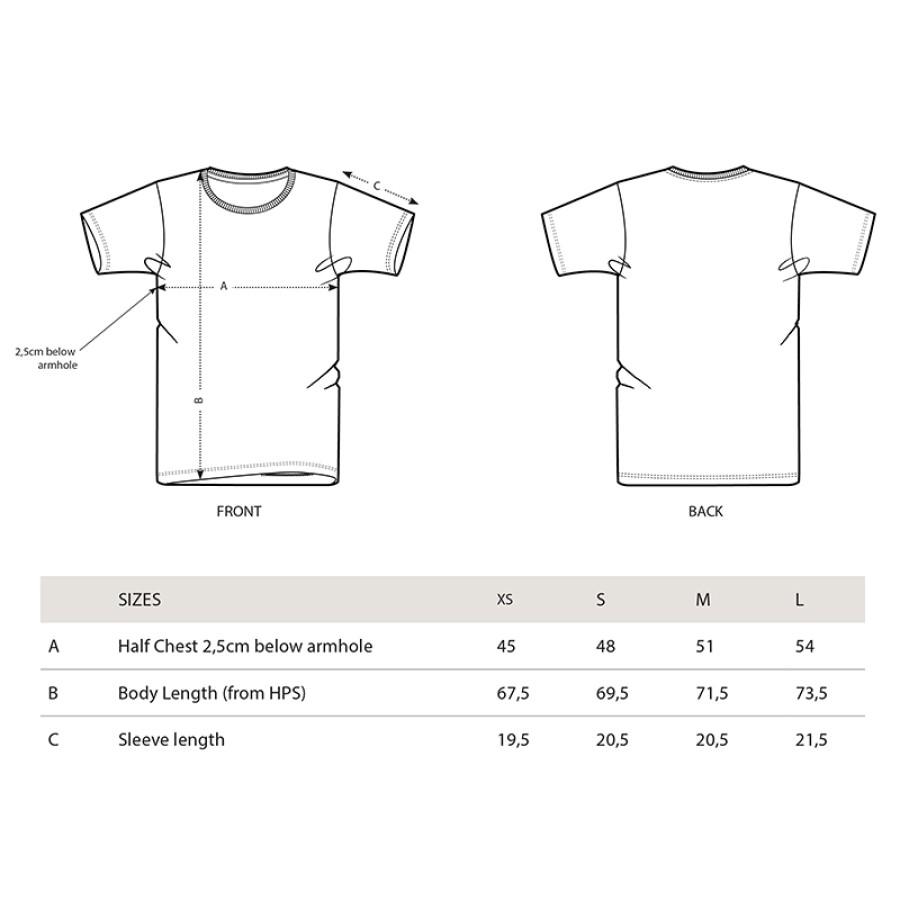 Unisex marškinėliai RISING (vintage white)